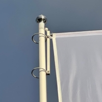 Polyester hijsbare baniermast