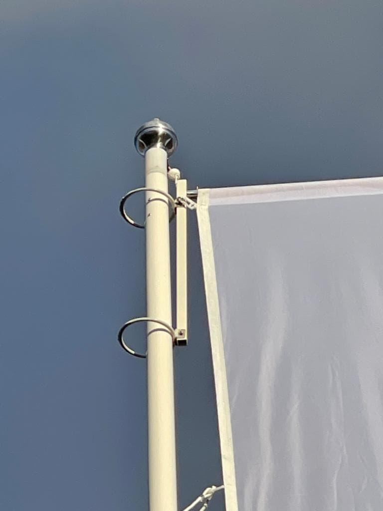 6 meter polyester hijsbare banieruithouder