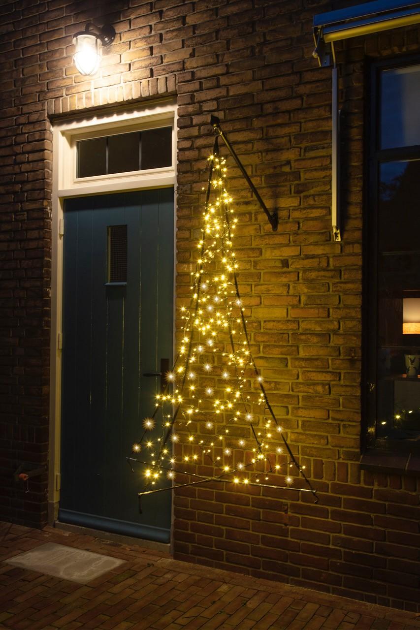 Fairybell hangende kerstboom 240 LED's warm licht